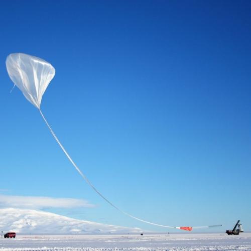 Anita balloon rising