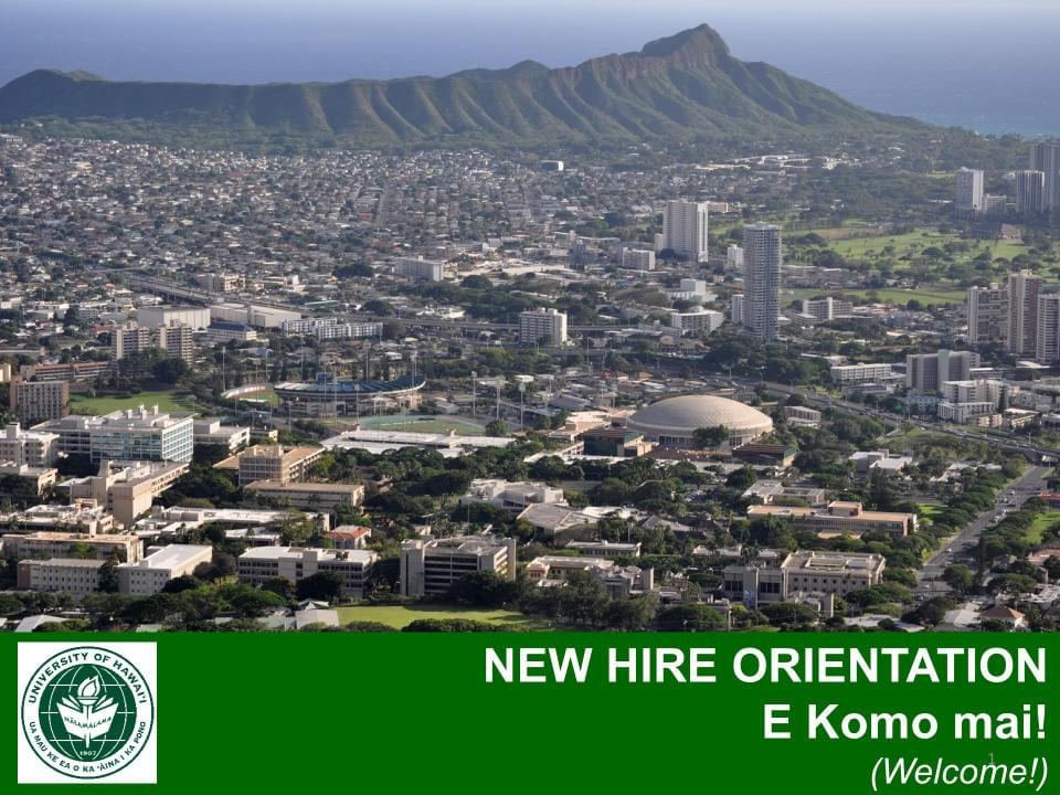 UH New Hire Orientation PDF